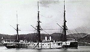 Nelson-class cruiser - Image: HMS Nelson (AWM 302451)
