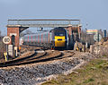 HST under footbridge at Dawlish Warren.jpg