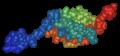 HSUMO1 1A5R nmr spheres.png