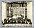 HUA-32381-Afbeelding van een toneelvoorstelling gegeven op 13 februari 1713 door de Portugese ambassadeur de graaf van Tarouca tijdens de onderhandelingen over .jpg