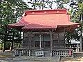 Hachiman-jinja shrine in Arahama area,Watari town.JPG