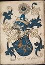 Haertoghe van Ghelre - Hertog van Gelre - Duke of Guelders - Wapenboek Nassau-Vianden - KB 1900 A 016, folium 10r.jpg