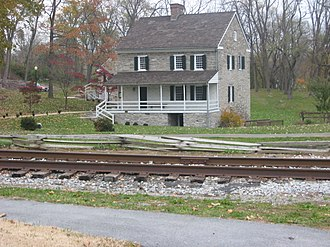 Hagerstown, Maryland - The Hager House and Museum in Hagerstown City Park was once home to the city's founder, Jonathan Hager.
