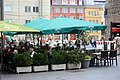 Halle (Saale), restaurant on the town square.jpg