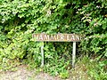 Hammer Lane sign - geograph.org.uk - 1392008.jpg