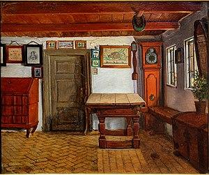 Hans Jørgen Hammer - Image: Hammer interieur ferme