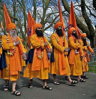 Vaisakhi Major spring time Sikh festival, harvest and traditional new year festival for many Hindus