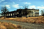 Hanford High after abandonment