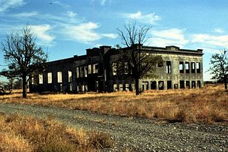 Manhattan Project National Historical Park - Hanford High, a part of the park in Washington.