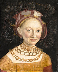 Portrait of Princess Emilia of Saxony