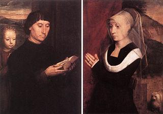 Portraits de deux donateurs