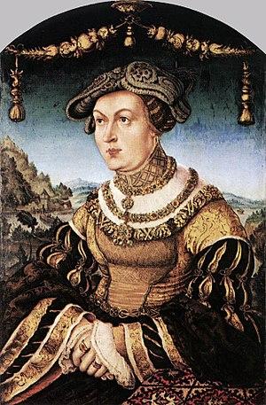Hans Wertinger - Princess Maria Jacobäa