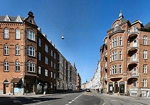 Frederiksbjerg - Hans Broges Street in Aarhus