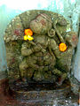 Hanuman Relief at Gudilova water jet.jpg
