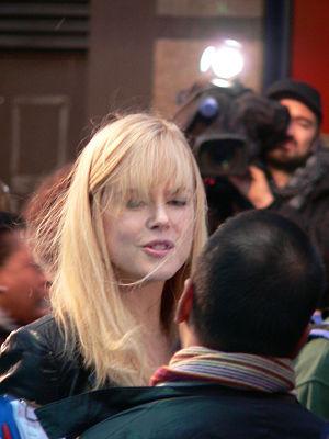 Happy Feet - Elijah Wood, Robin Williams, Brittany Murphy and Nicole Kidman at the film's European premiere in London, UK.