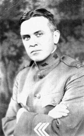 Hardin Craig - Hardin Craig, photograph taken at the end of World War I in U.S. Army uniform
