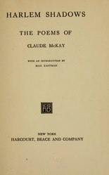 Claude McKay: Harlem Shadows