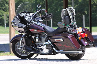 Touring motorcycle type of motorcycle
