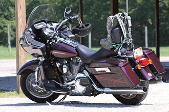 Touring motorcycle - Harley-Davidson Road Glide touring motorcycle.