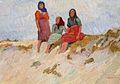 Harold Bengen - Drei Mädchen auf Düne.jpg