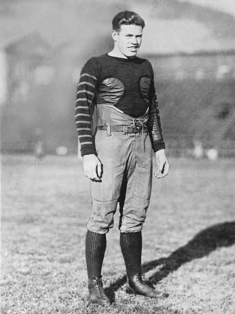 1921 College Football All-America Team - Brick Muller of Cal.