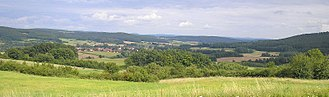 Haßberge Hills - Image: Hassberge