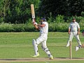 Hatfield Heath CC v. Netteswell CC on Hatfield Heath village green, Essex, England 19.jpg