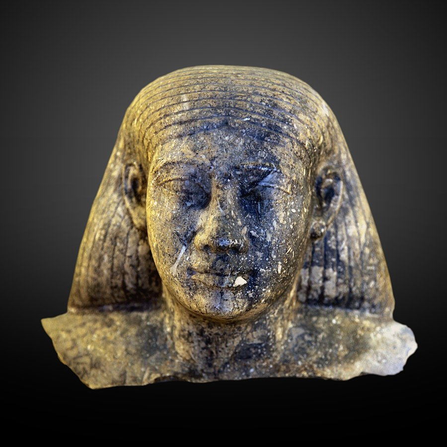 Head of a man-E 11068