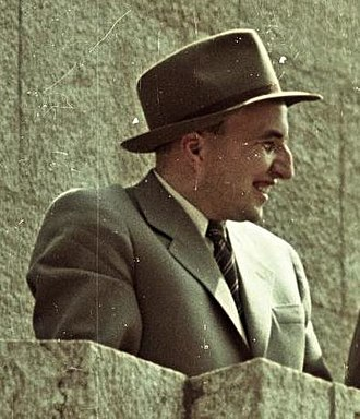 András Hegedüs - András Hegedüs in 1955