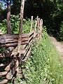 Hegn ved hallandsk gård på Frilandsmuseet.JPG