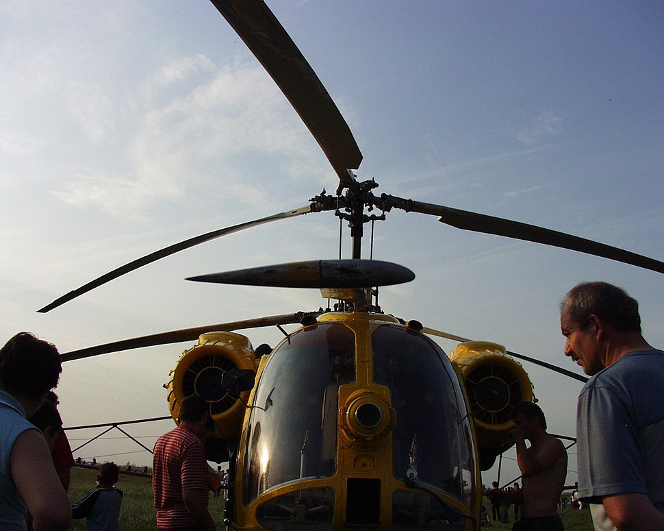Helikopter forgószárnyának keresztmetszete 2