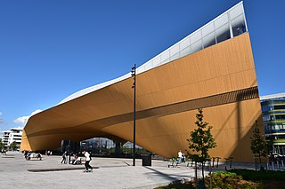 Helsinki Central Library Oodi municipal library in Helsinki, Finland