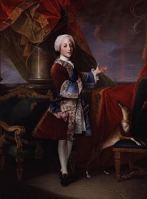 Henry Benedict Stuart - Henry Benedict Stuart, age 13, by Louis Gabriel Blanchet (1738)