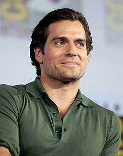 Henry Cavill British actor