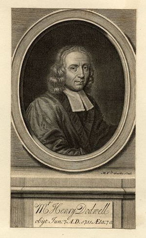 Henry Dodwell - Image: Henry Dodwell