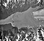 Herman Glacier, valley glacier terminus, June or July 1993 (GLACIERS 5227).jpg
