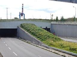 Herrentunnel in Lübeck