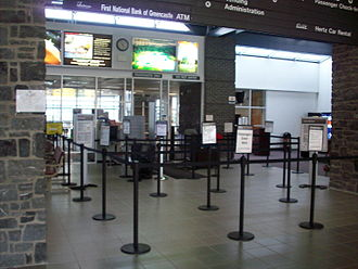 Hagerstown Regional Airport - TSA security checkpoint