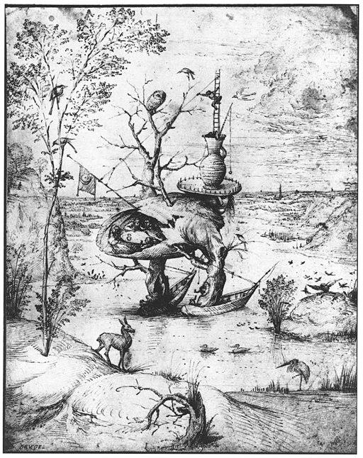 Hieronymus Bosch - Tree-Man - WGA02632