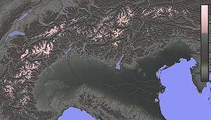 High Alps - Image: High Alps relief