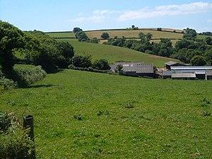 Abbotsleigh, Devon - Image: Higher Abbotsleigh geograph.org.uk 207546