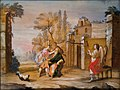 Hinterglasbild Tobias heilt die Blindheit des Vaters Augsburg 18 Jh.jpg