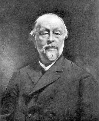 Portrait of Hippolyte Taine by Léon Bonnat.