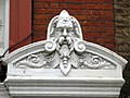 Hirsute man on a building in Chiltern Street, W1 - geograph.org.uk - 1527590.jpg