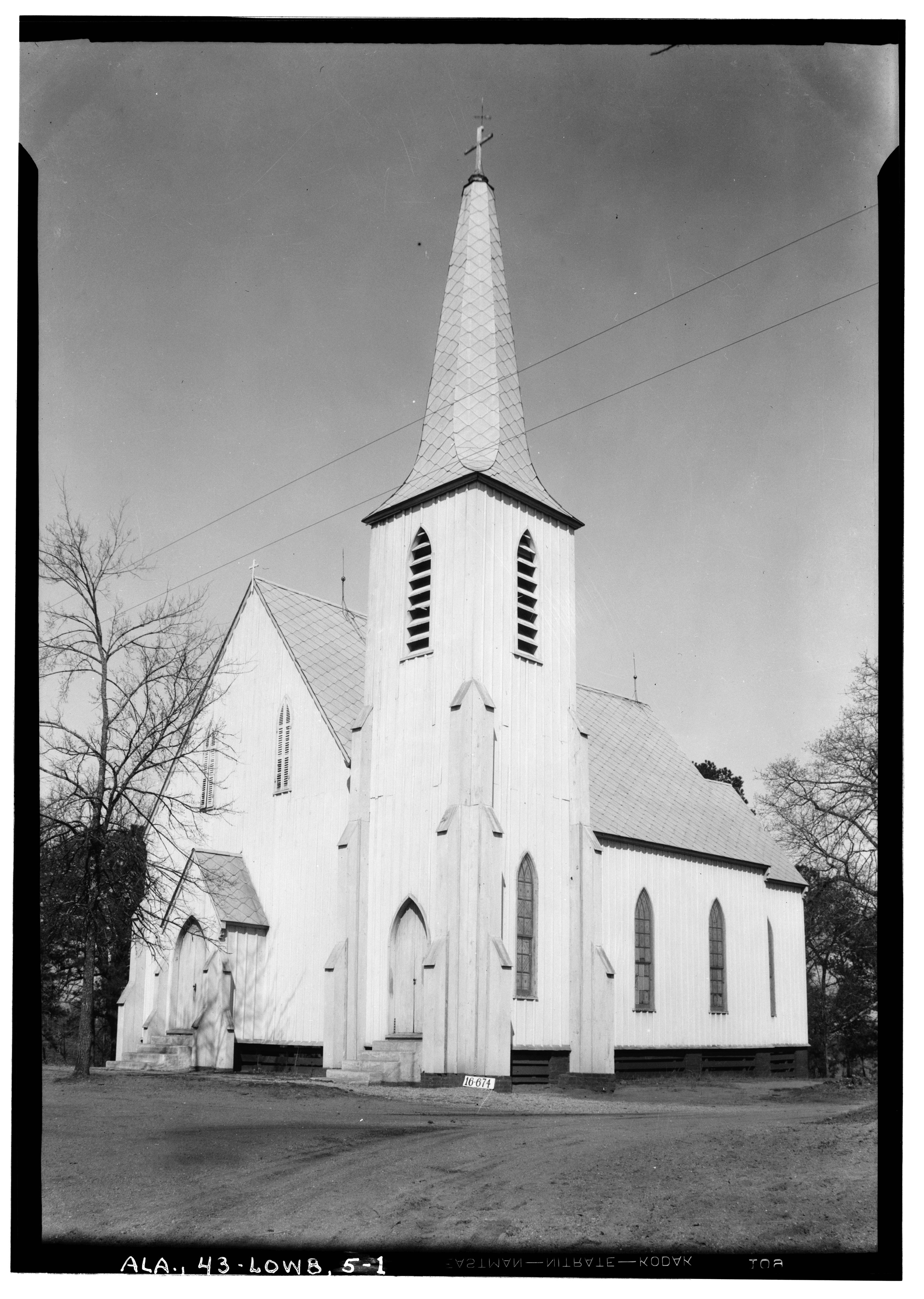Sample Front Elevation Church : File historic american buildings survey w n manning