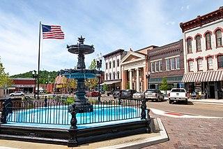 Nelsonville, Ohio City in Ohio, United States