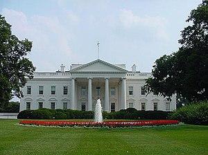 Fachada norte de la Casa Blanca.