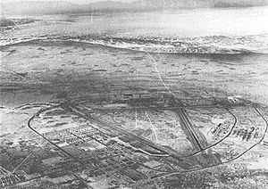 New Mexico during World War II - Alamogordo Army Airfield in 1944.
