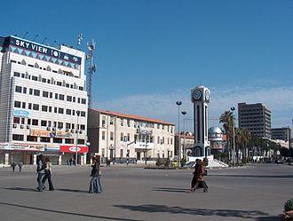 Quwatli Street (Homs) - Quwatli Square, western end of Quwatli Street