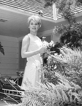 Hope Lange in de televisieserie The Ghost and Mrs. Muir in 1968.